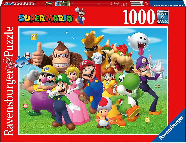Ravensburger- Super Mario Puzzle 1000 Piezas Fantasy, Color 1. (14970): Amazon.es: Juguetes y juegos