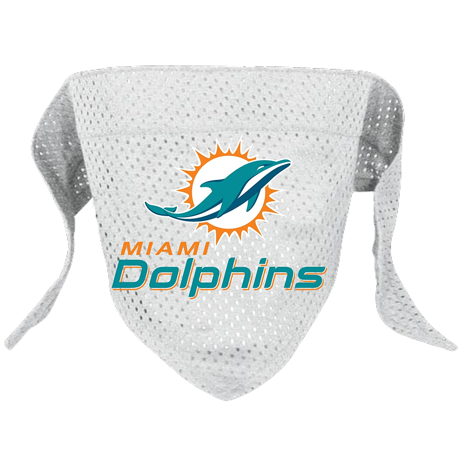 Miami Dolphins Dog Bandana Large Hunter Manufacturing - Pets 5165-17 12ee3a373