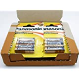 48 x Pila AA Alcalina POWER de PANASONIC Baterias de 1.5V LR6 BRONZE AWARD 2596