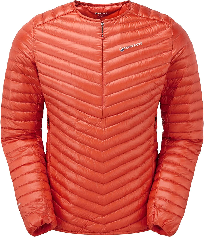 Small Montane Starlight Pull-On Jacket Mens Firefly Orange MSTAPFIRB6
