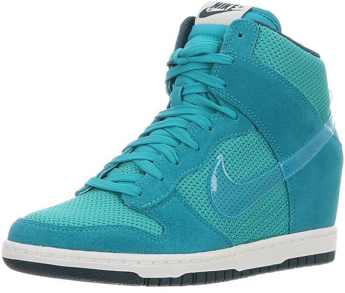 Nike - Zapatillas de deporte para mujer TURBO vert/bleu/nuances de nuit/ Turbo vert (GREEN/SAIL/NIGHTSHADE/TURBO GREEN): Amazon.es: Ropa y accesorios