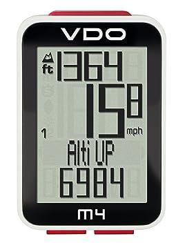 8b9bf408a VDO M4 Ciclocomputadora, Negro: Amazon.es: Deportes y aire libre