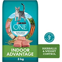 Purina ONE Dry Cat Food, Indoor Advantage 3 kg