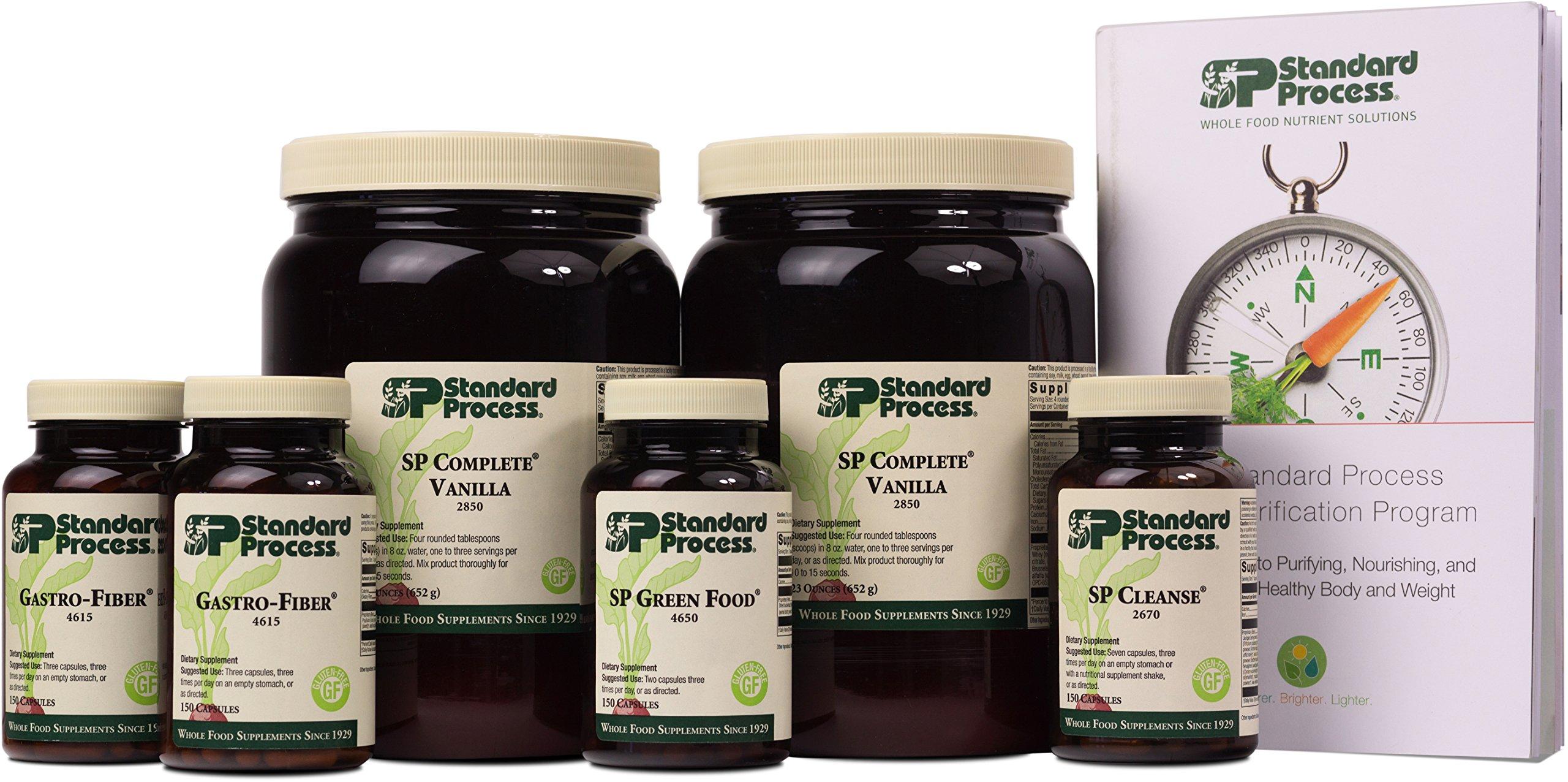 Standard Process - Purification Kit w/SP Complete Vanilla and Gastro Fiber