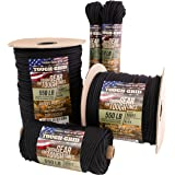 TOUGH-GRID 550lb Paracord/Parachute Cord - 100% Nylon Mil-Spec Type III Paracord Used by The US Military, Great for Bracelets