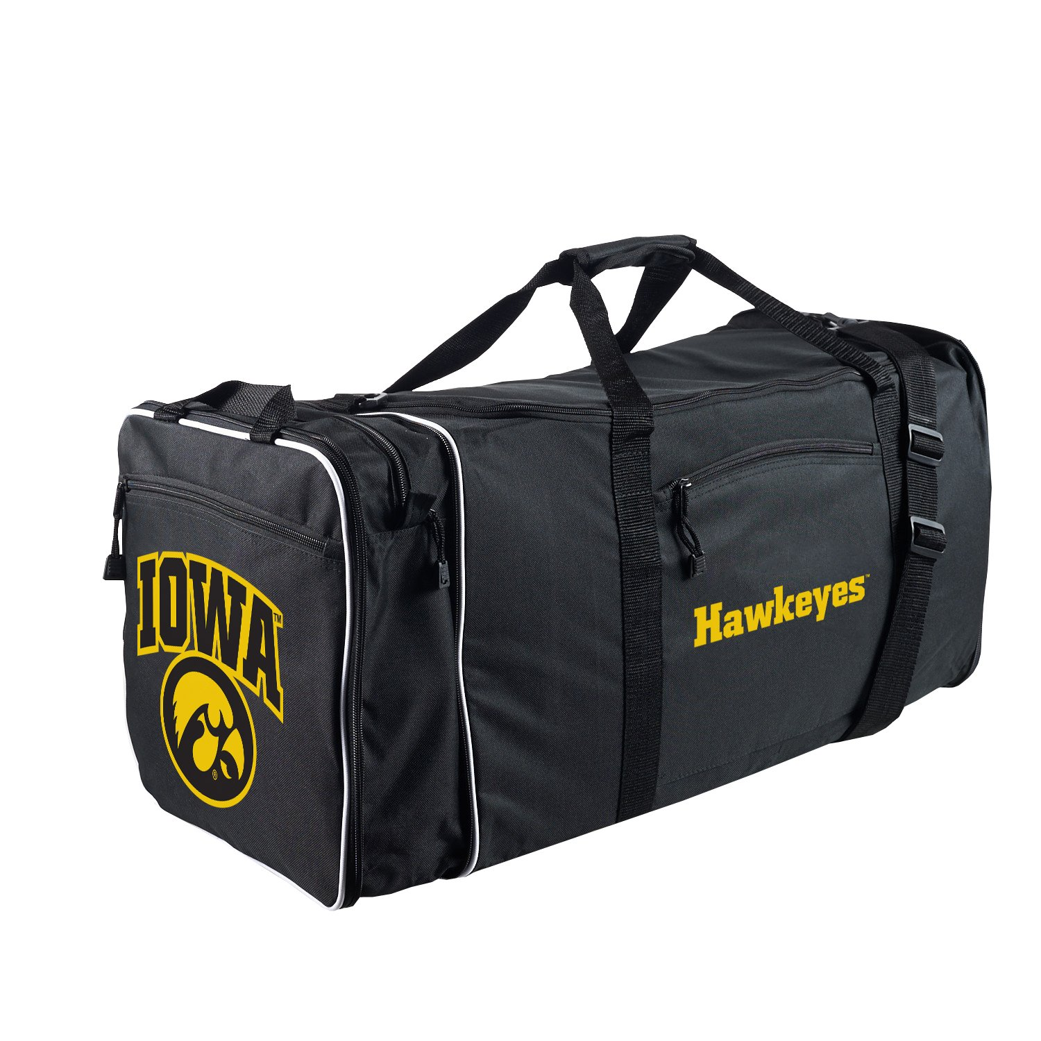 Officially Licensed NCAA Iowa Hawkeyes Steal Duffel Bag by The Northwest Company (Image #2)