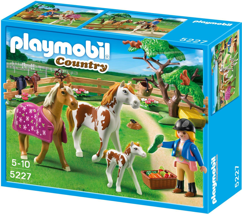PLAYMOBIL 5227 - Pferdekoppel