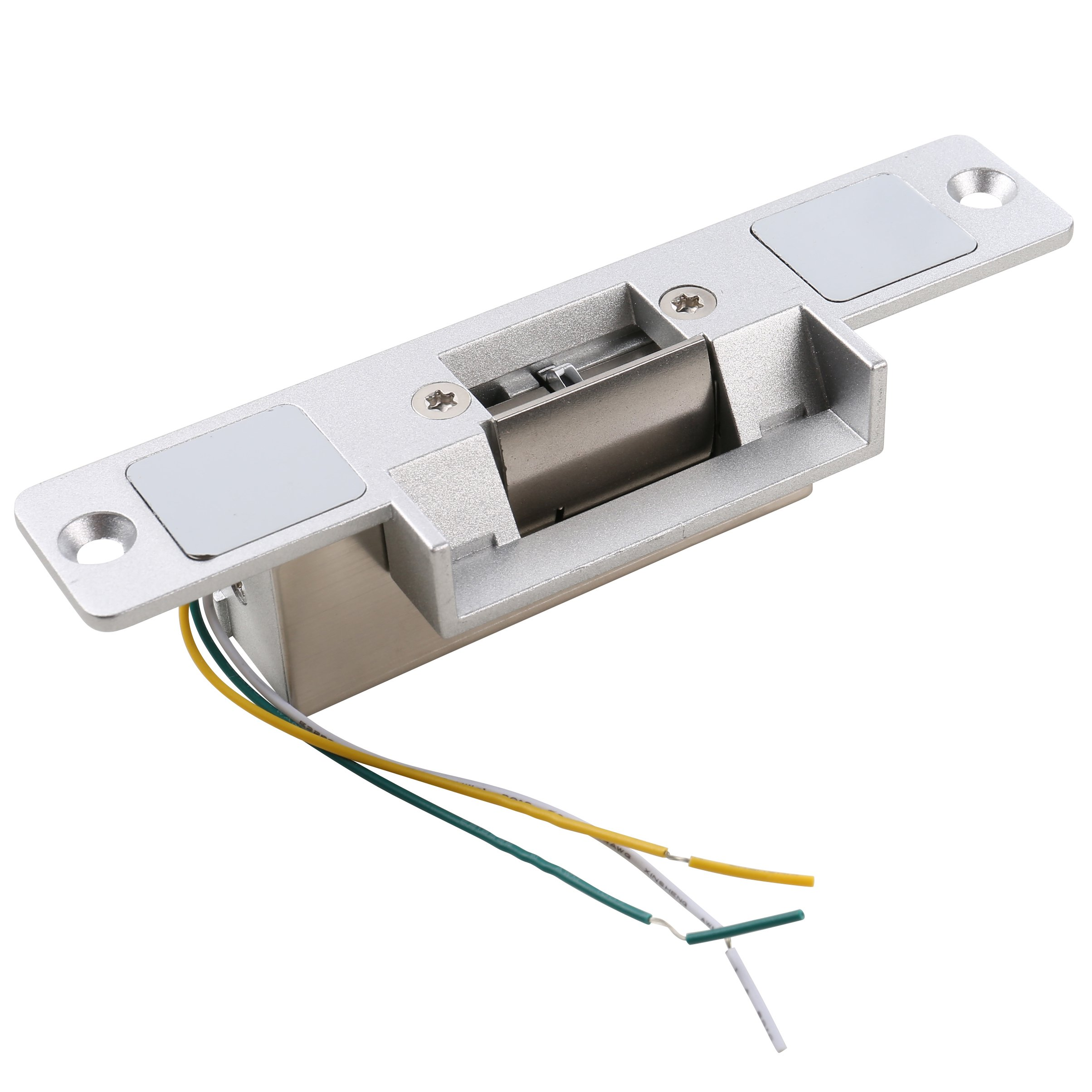 MATEE DC12V Zinc Alloy Fail Safe NC Mode Electric Strike With Signal Feedback NO/NC/COM For Door Access Control System