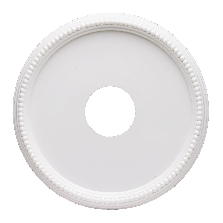 Westinghouse 7773300 16-Inch Round Beaded White Finish Ceiling ...