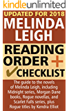 Melinda Leigh Reading Order and Checklist: The guide to the novels of Melinda Leigh, including Midnight series, Morgan Dane books, Rogue novellas, and Scarlet Falls series