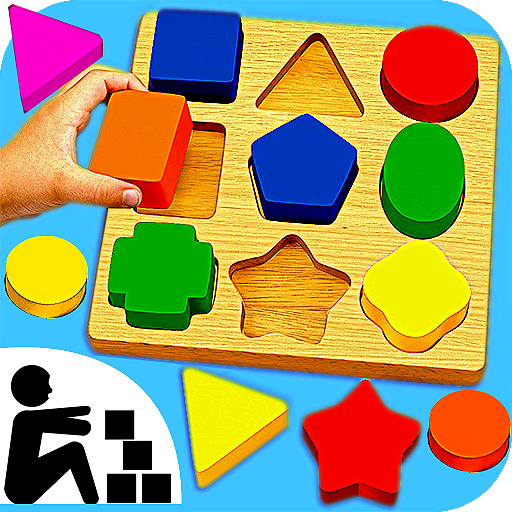 Sudoku Color Shapes Puzzle : Kids Free Game (2 Patterns Free)