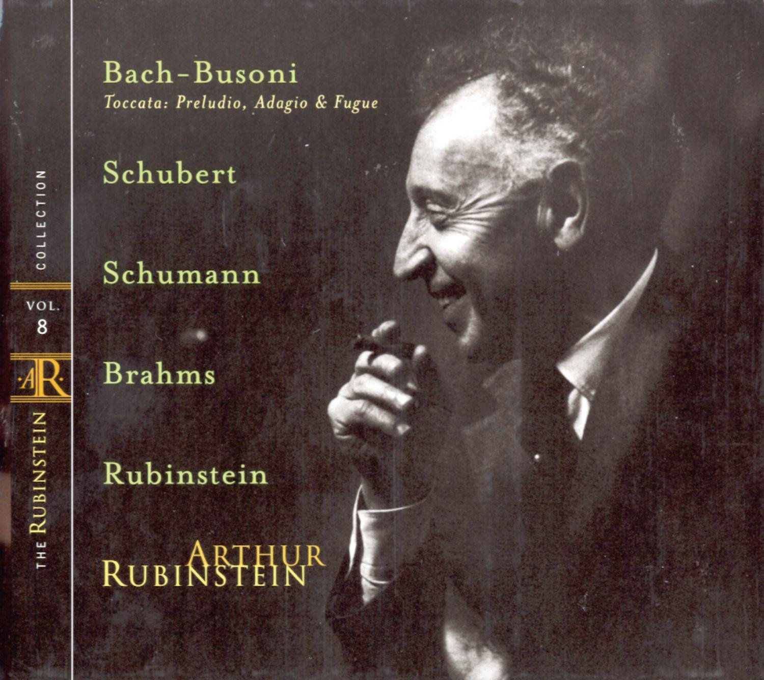 Rubinstein Collection Vol. 8: OFFicial mail order Bach-Busoni: Deluxe Schubert Toccata; S