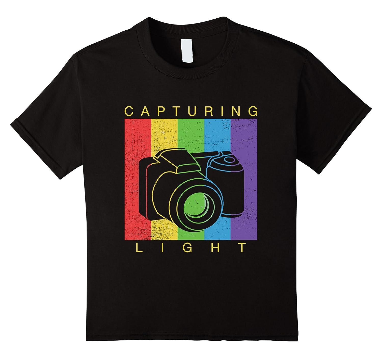 Mens Vintage Photographer Shirt Capturing-Teesml