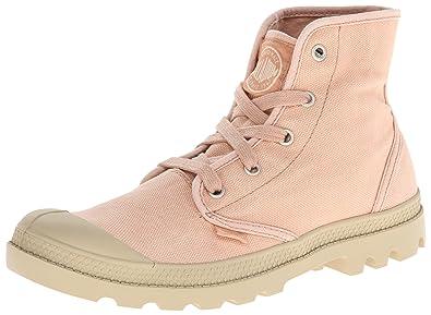 Palladium Pampa Hi Salmon Pink/putty M, Damen Desert Boots - Pink (salmon Pink/putty 670), 41 Eu (7 Damen Uk)