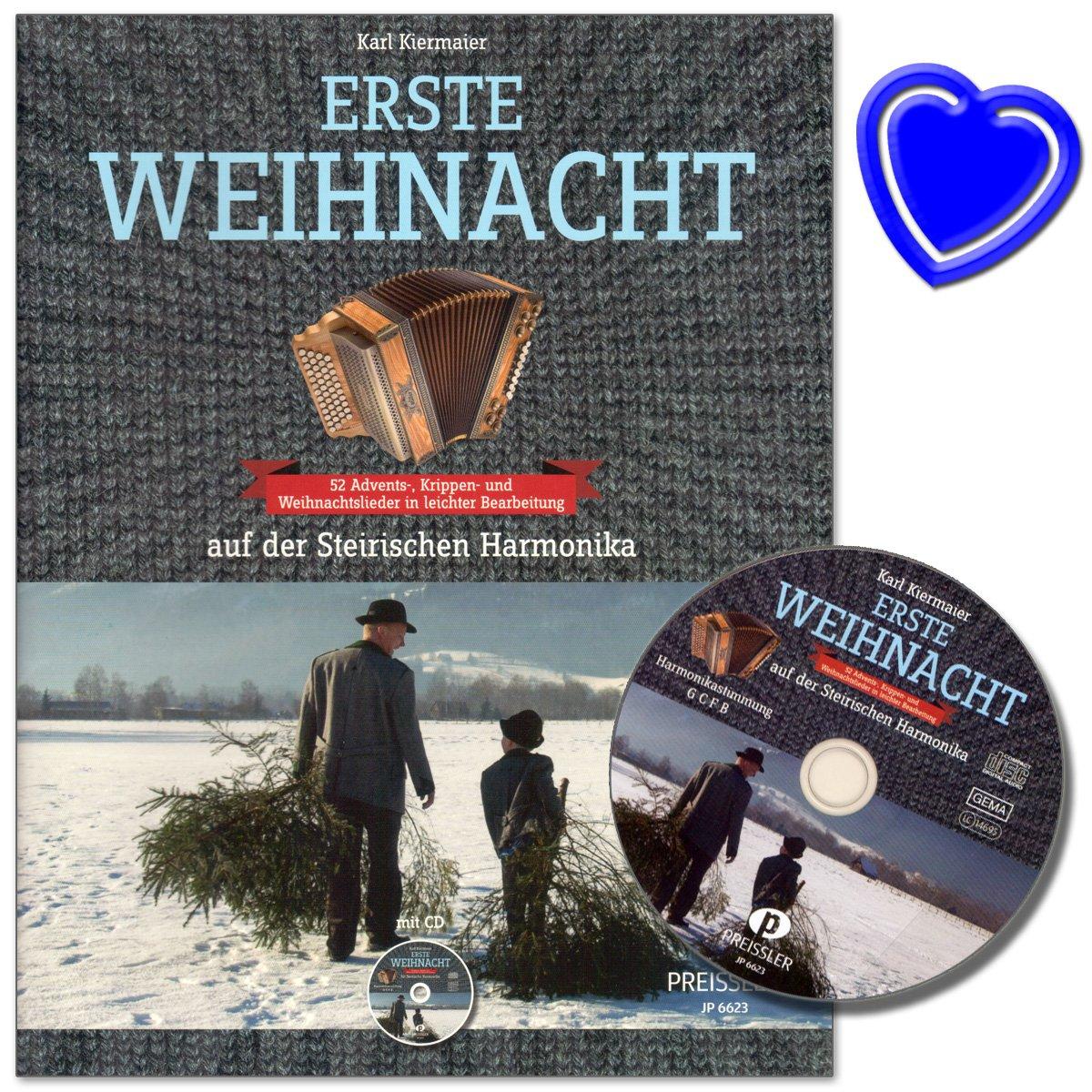 Erste Weihnacht auf der Steirischen Harmonika - 52 Advents- und ...