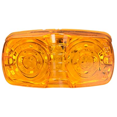 Grote G4603-5 Hi Count Yellow Square-Corner 13-Diode LED Clearance Marker Light (Retail Pack): Automotive
