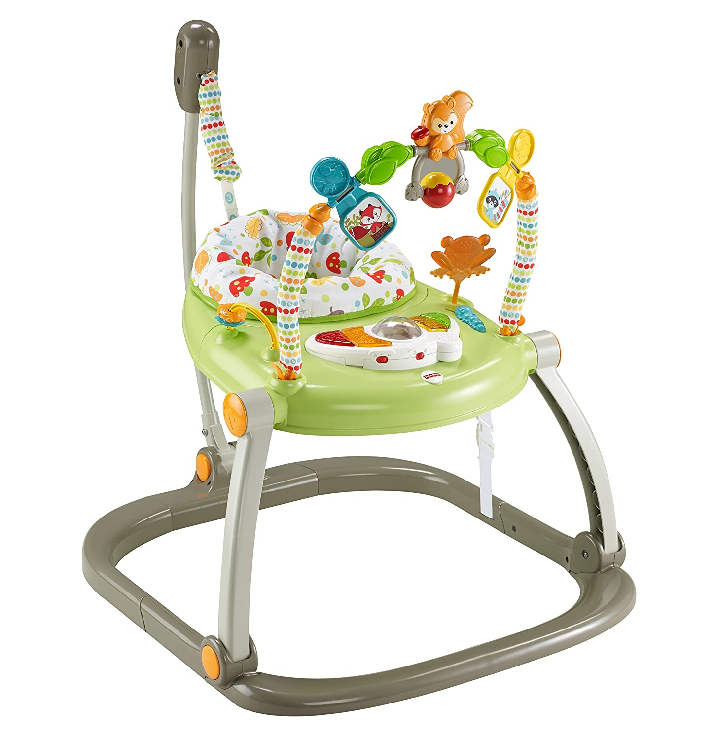 10e122d54e81 Fisher-Price Woodland Friends Spacesaver Jumperoo  Amazon.co.uk  Baby