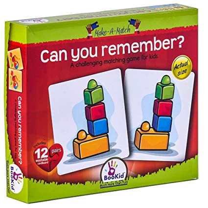 Make A Match Baby Puzzle Games Can You Remember?. Memory Game For 18+ Months Old