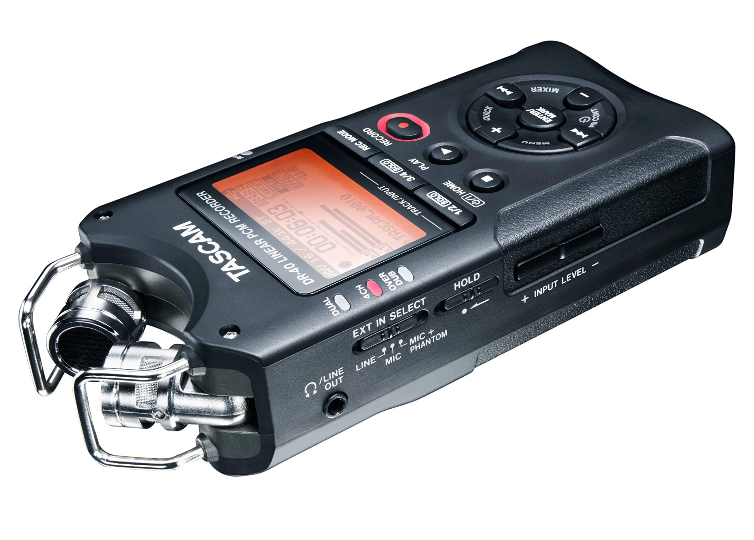 Tascam DR-40 4-Track Portable Digital Audio Recorder by Tascam (Image #13)