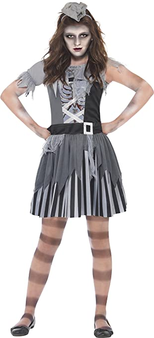 Smiffyu0027s Childrenu0027s Ghost Ship Pirate Costume Dress and Mini Hat Size M  sc 1 st  Amazon UK & Smiffyu0027s Childrenu0027s Ghost Ship Pirate Costume Dress and Mini Hat ...