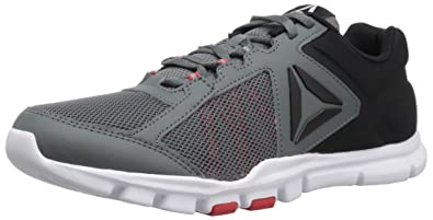 reebok yourflex train. Reebok Men\u0027s Yourflex Train 9.0 MT Running Shoe, Alloy/Primal Red/Black/