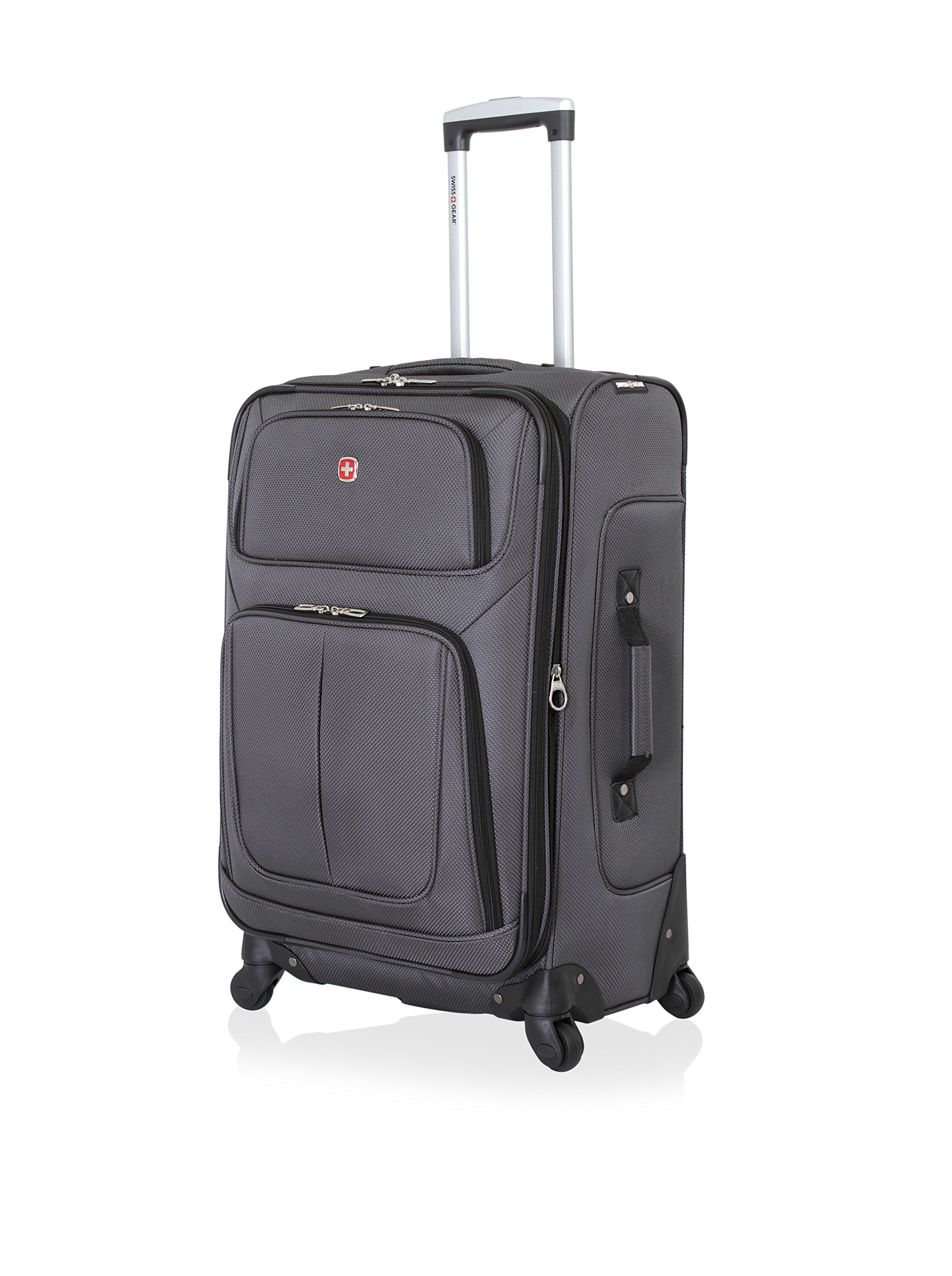 SwissGear Sion Spinner Luggage 25'', Dark Grey by SwissGear