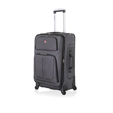SwissGear Sion Spinner Luggage 25 , Dark Grey