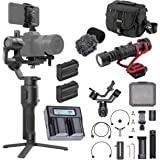 DJI Ronin-SC Handheld 3-Axis Gimbal Stabilizer for Nikon Z6 and Z7 Mirrorless Camera, Pro Battery Bundle with Bag, H+A…