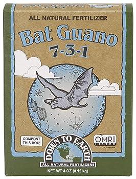 Down to Earth Organic Bat Guano Fertilizer