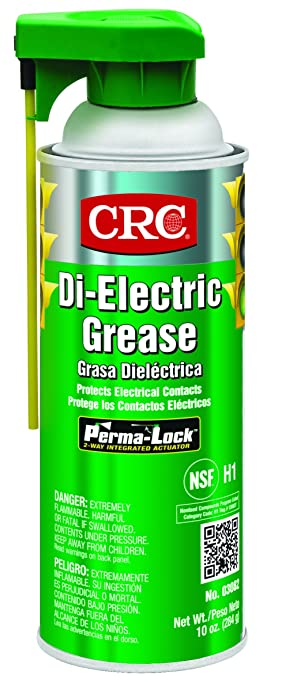 CRC di-electric grasa, 10 oz Aerosol Can,), color blanco opaco: Amazon.es: Deportes y aire libre