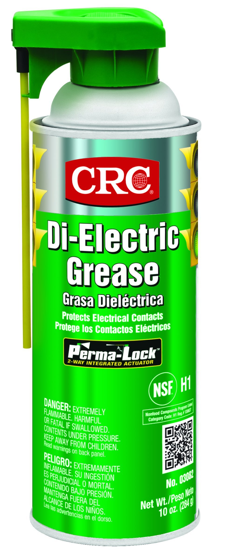 CRC Di-Electric Grease, 10 oz Aerosol Can, Opaque White