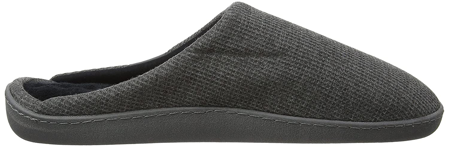Pillowstep Slippers, Chaussons Mules Homme, Gris (Charcoal Grey),45/46 EU(Manufcturer Size - Large)Isotoner