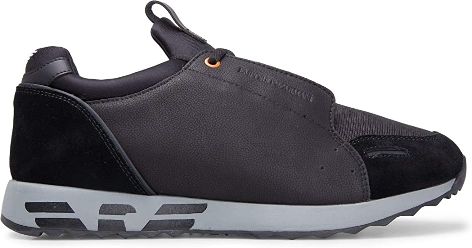 Emporio Armani Sneakers in Leather and