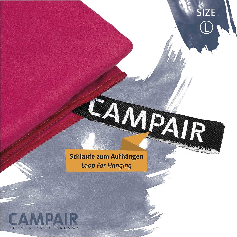 varios colores CampAir Toalla de microfibra con bolsa de malla 90x 180cm 60x 120cm