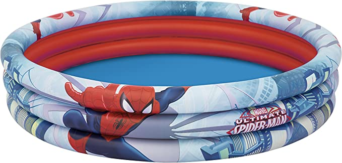 BESTWAY 98006 Piscina Hinchable Infantil Spiderman, Gris, 152x30 cm: Amazon.es: Juguetes y juegos