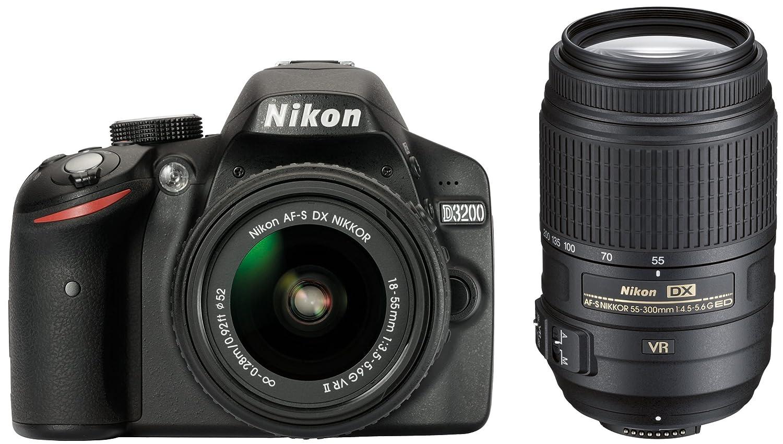 Nikon D3200 - Cámara de fotos digital con objetivo VR II,18-55 mm ...