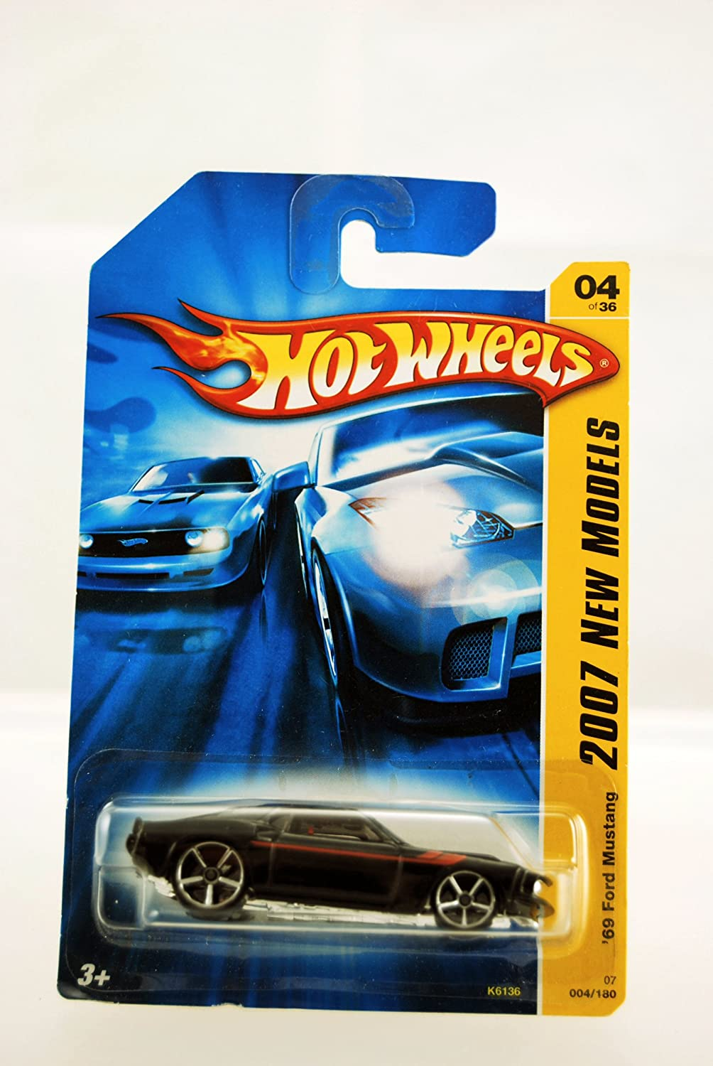Amazon com hot wheels 2007 new models 1969 ford mustang toys games