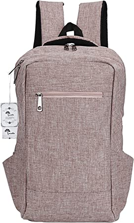 Grey Laptop Backpack WInblo 15.6 Inch College Backpack with USB Charging Port /& Headphone Interface Business Laptop Backpack Light Weight Travel Backpack for Men Women