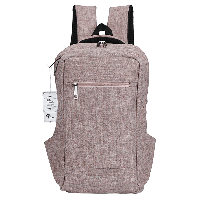 Laptop Backpack,Winblo 15 15.6 Inch College Backpacks Lightweight Travel Daypack – Black
