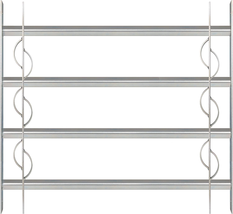 GAH-ALBERTS Ventana Rejilla secorino Style–Extensible, galvanizado en Azul, 563653