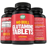 Raw Barrel's - Pure L Glutamine Tablets - 120 Pills at 1000mg - SEE RESULTS OR YOUR MONEY BACK - With *FREE* Digital Guide