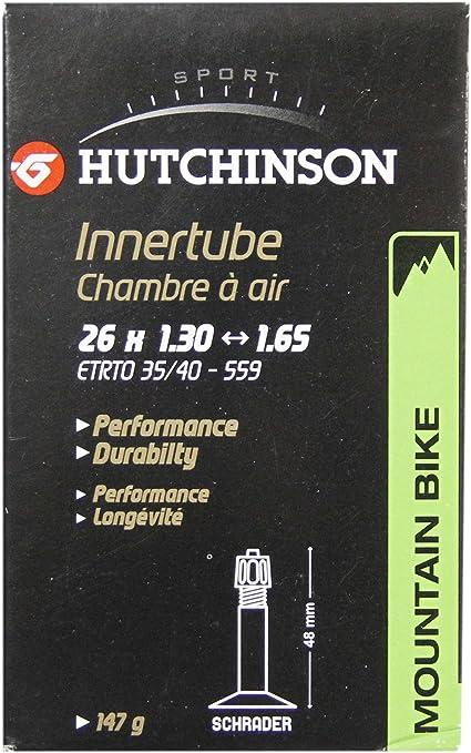 HUTCHINSON CV656981 Cámara de Bicicleta, Unisex Adulto, Negro, 26 ...