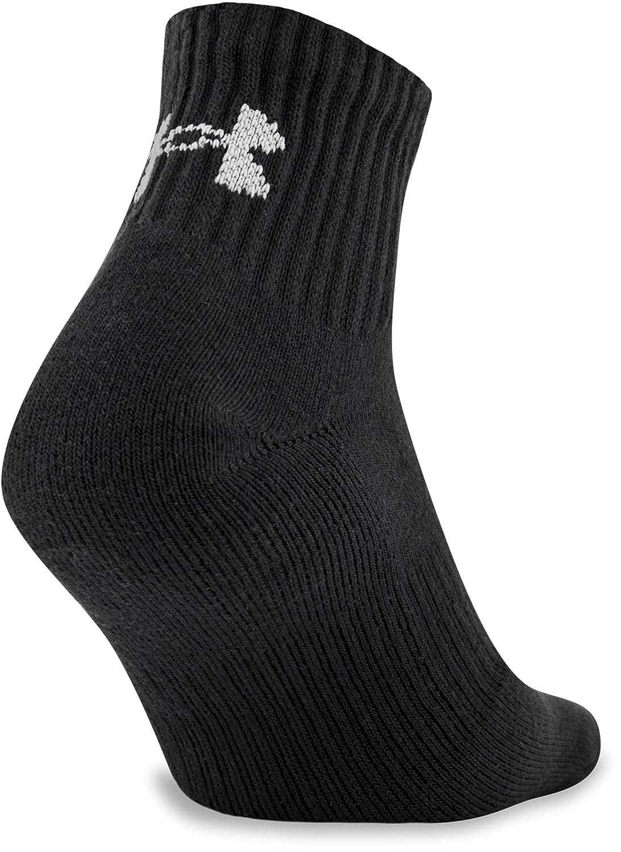 Under Armour Mens Charged Cotton 2.0 Quarter Socks Under Armour Socks U321M-P
