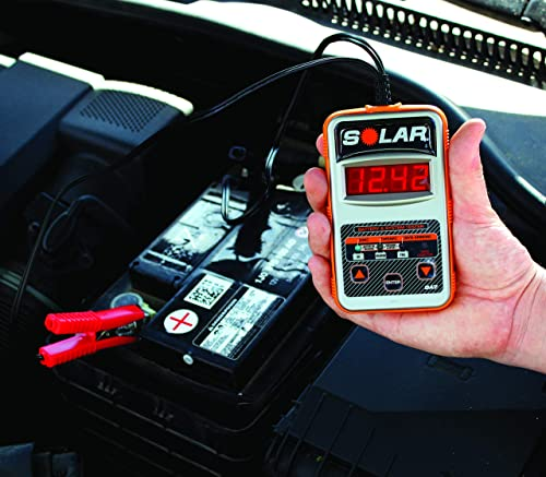 Sola BA7 car battery tester is suitable for DIY and technicians.
