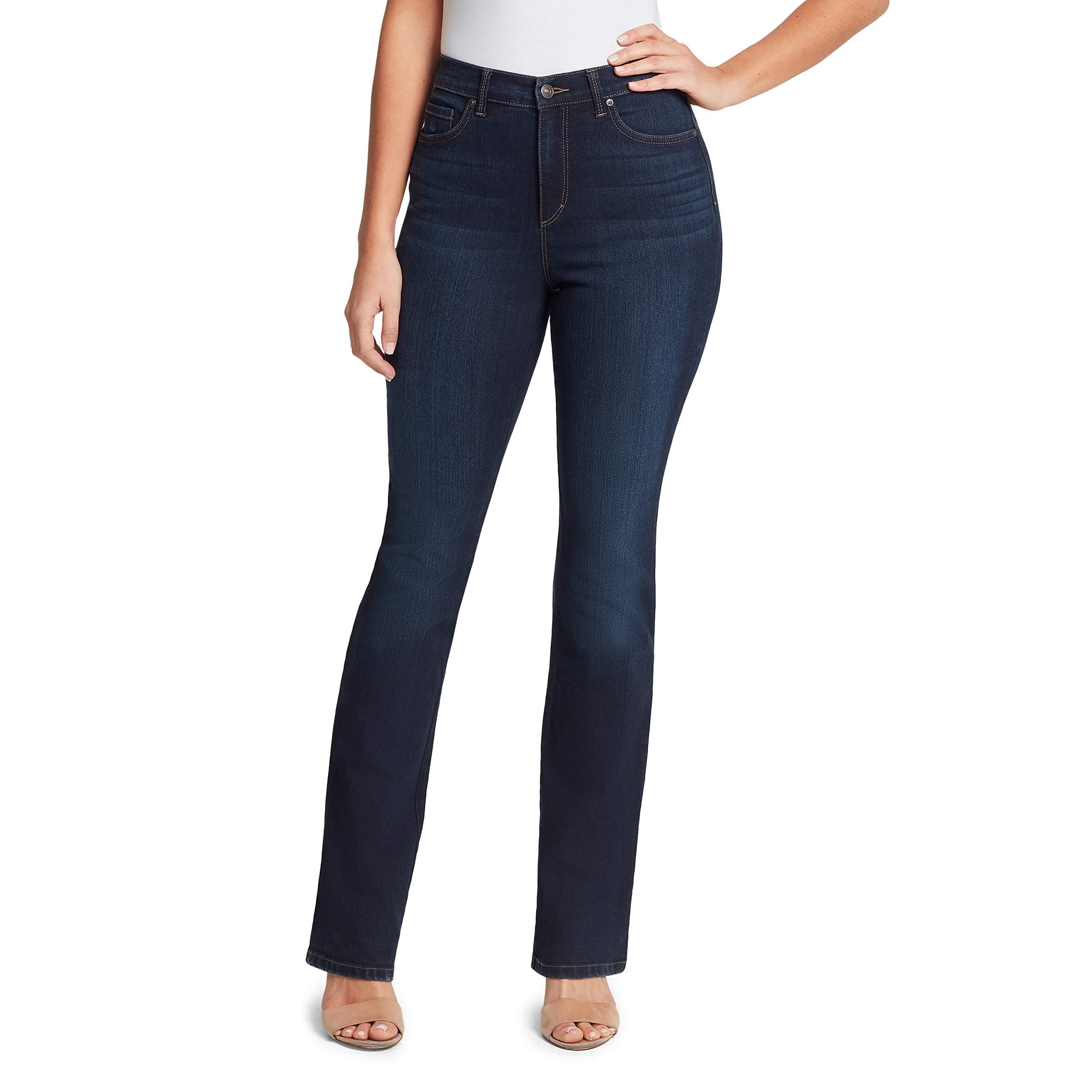 16 Ave Ladies/' Gloria Vanderbilt Amanda Original Slimming Jean Aqua Sky Size