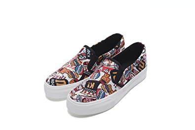 Women's Lightweight Printed Slip-On Casual Loafer Sneaker