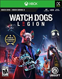 Amazon Com Watch Dogs Legion Xbox One Gold Steelbook Edition Ubisoft Video Games