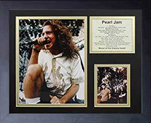 11x14 FRAMED PEARL JAM THE BAND EDDIE VEDDER TEN VITALOGY ALBUM LIST 8X10 PHOTO