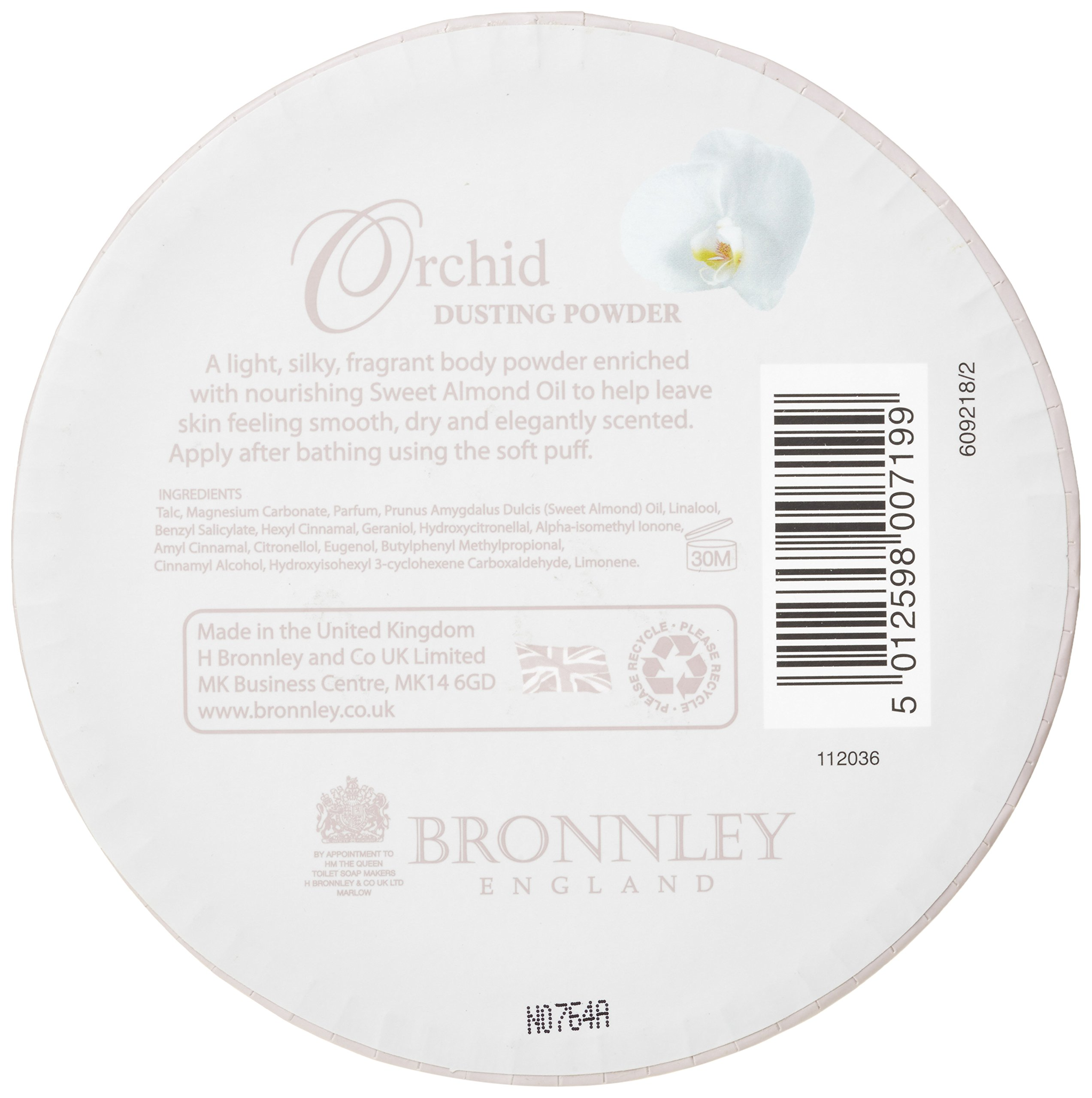 Bronnley Orchid Dusting Powder 75g by Tayongpo by Tayongpo (Image #2)