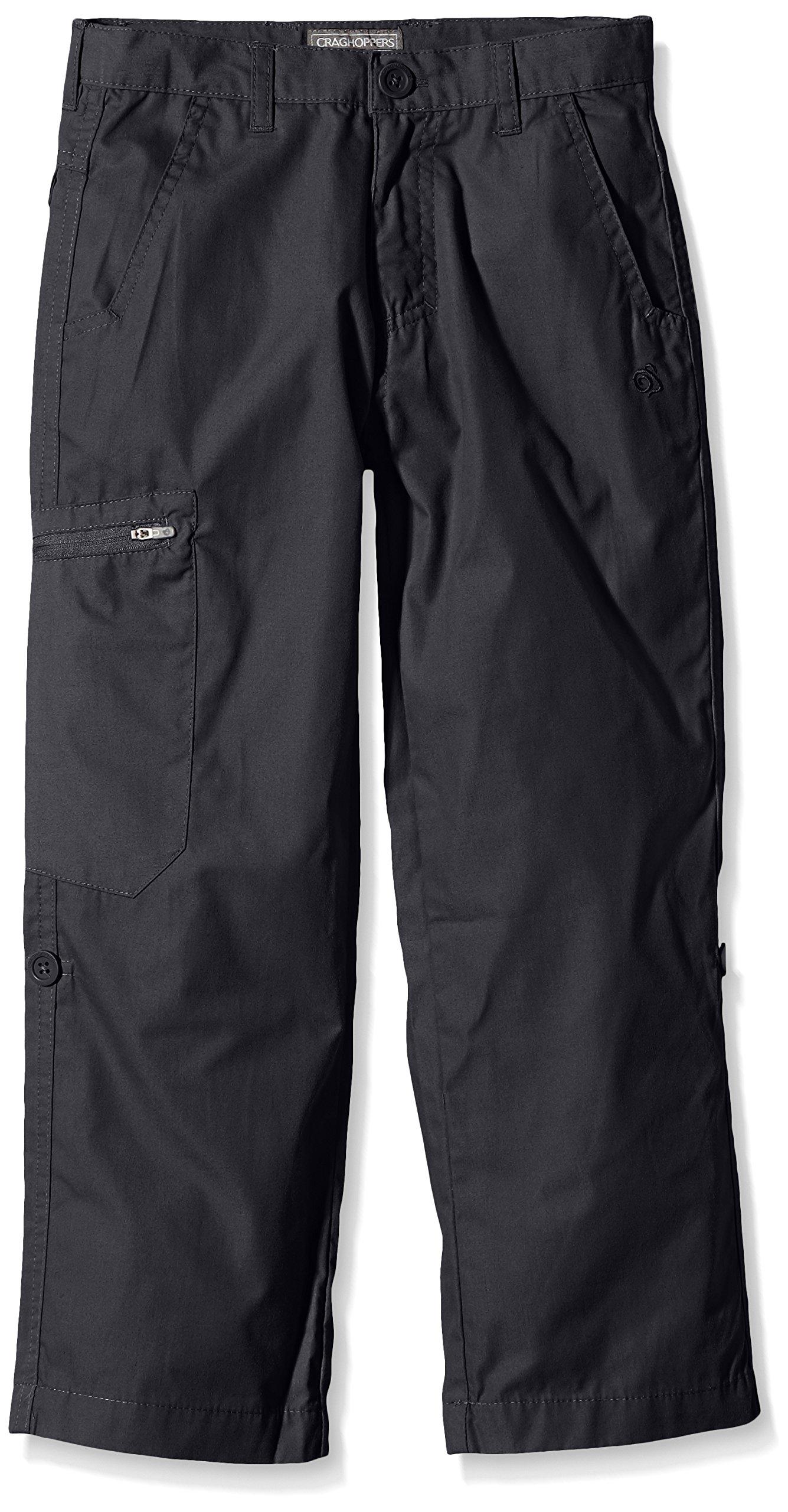 Craghoppers Kids Kiwi Trousers Pants, Navy, Size 7-8